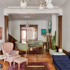 Interior Designing Photos Living Room Hanging Lamps Park Slope Limestone Jessica Helgerson Design