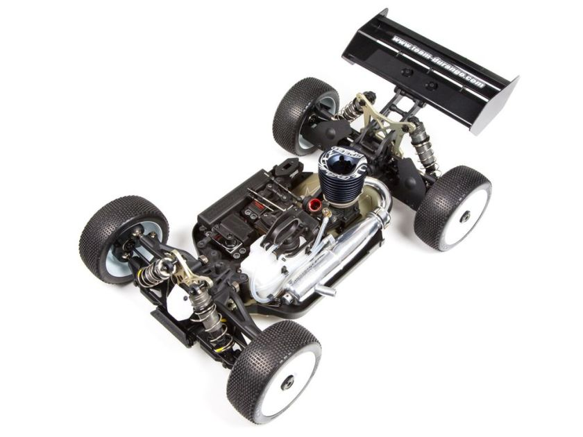 A Durnago DNX8 - a 1/8th scale race buggy.