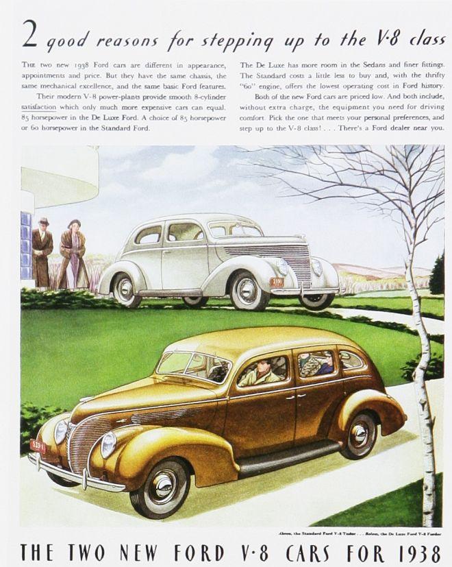 1930's - Ford V8 cars.