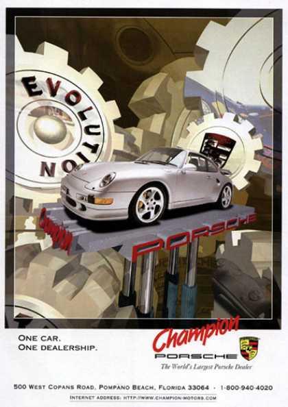 1990's - Porsche