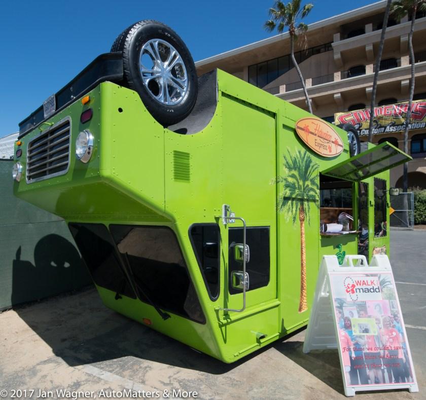 Hawaiian Express upside down food truck