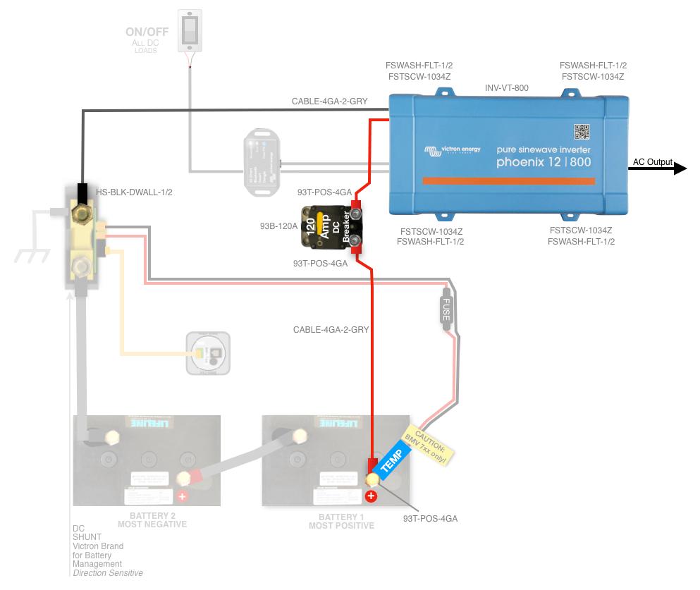 medium resolution of battery shunt wiring diagram