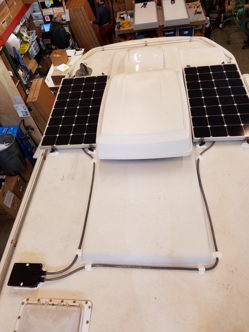 medium resolution of 200w of sp100 panels