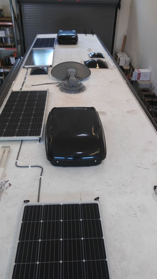 small resolution of 720w solar charging system