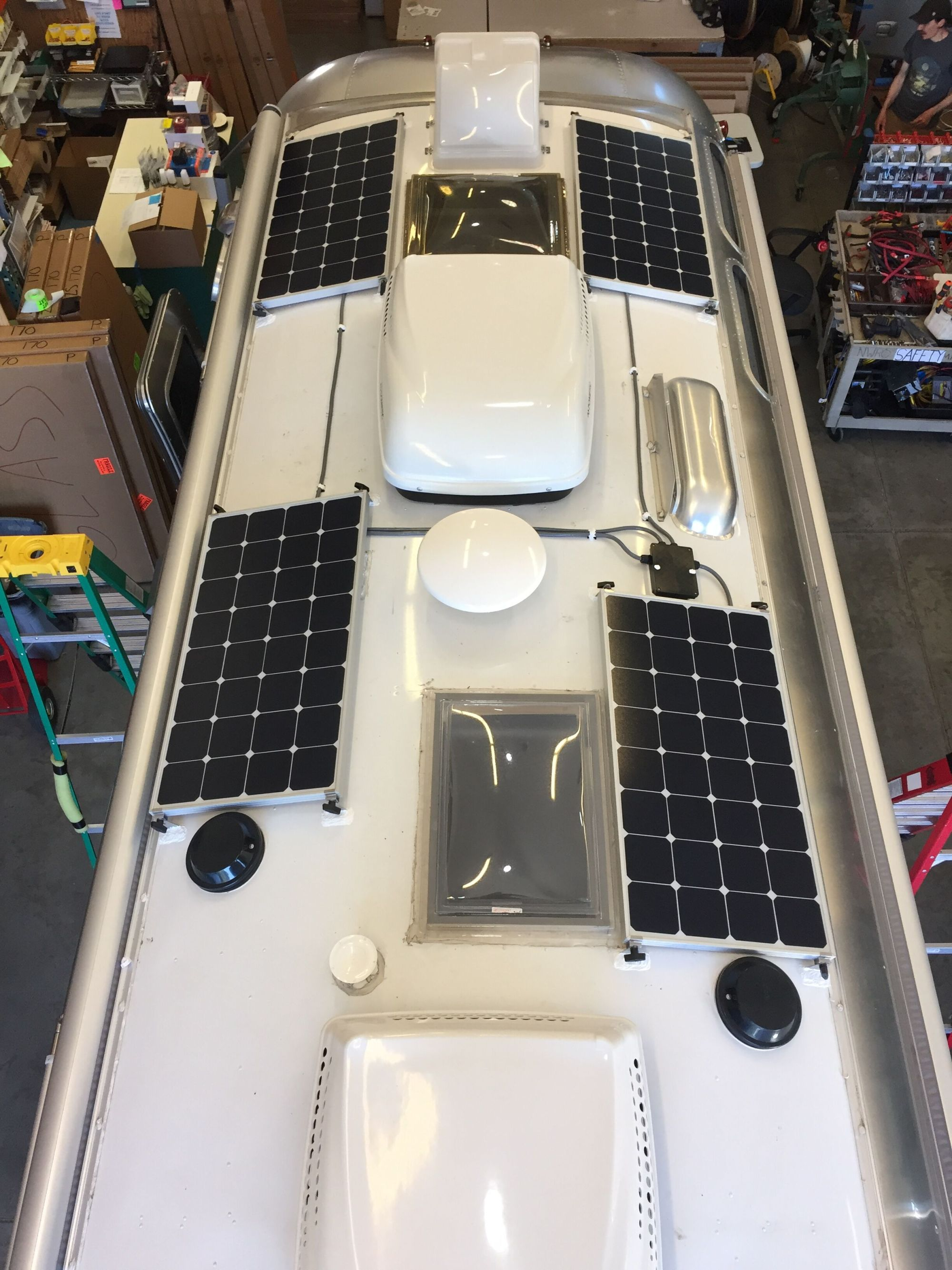 hight resolution of 400w solar array