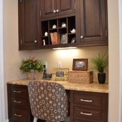 Kitchen Desk Pendant Light For Classic Meets Modern Custom Cabinets Ackley Cabinet Llc Dark Espresso Cherry Area Display Shelf