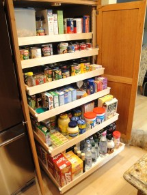 Kitchen Cabinet Storage Pull Out Pantry Shelves