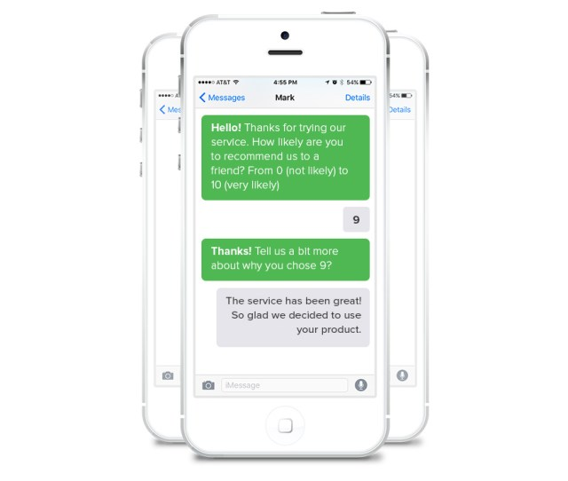 Nps Surveys Via Text Messaging