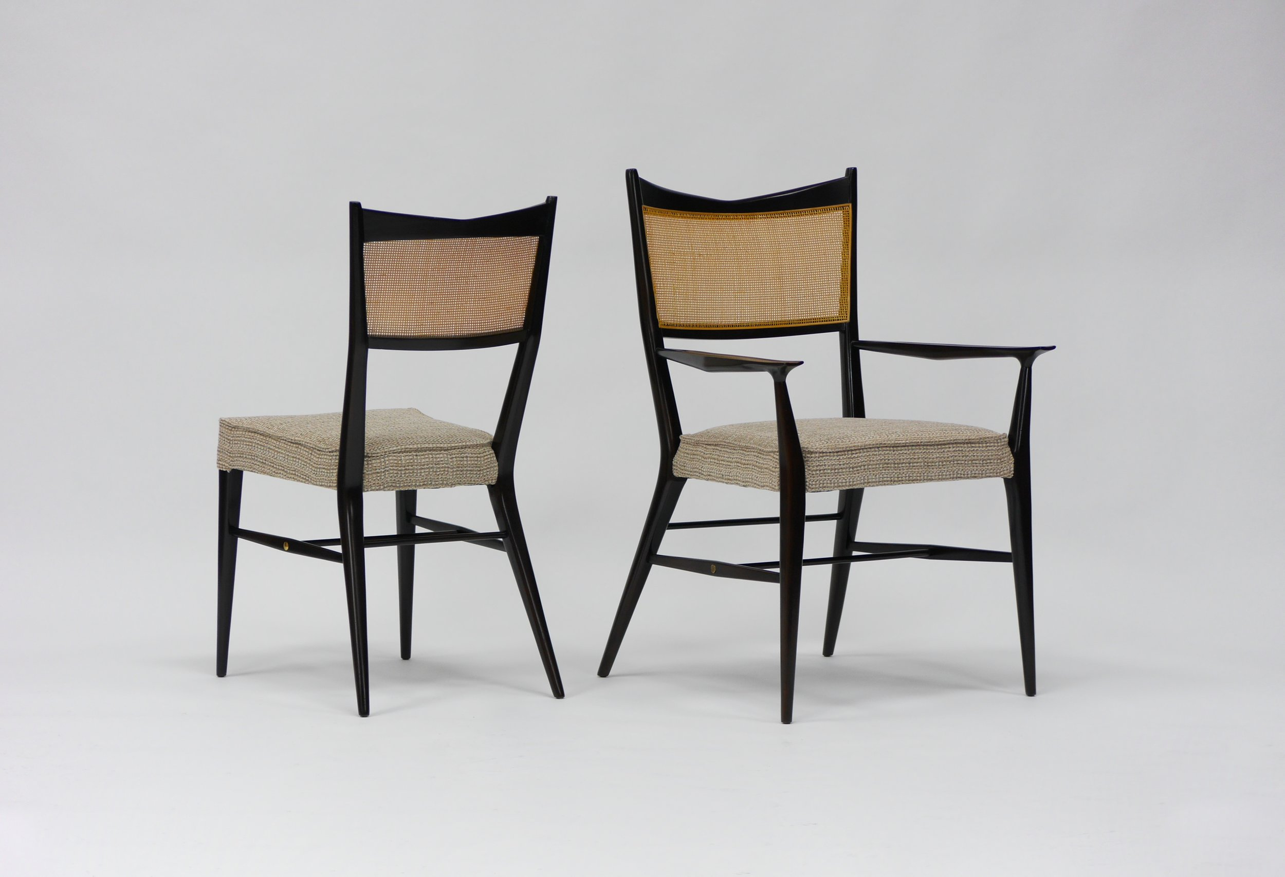 Paul Mccobb Chairs Eight Paul Mccobb Irwin Collection Dining Chairs