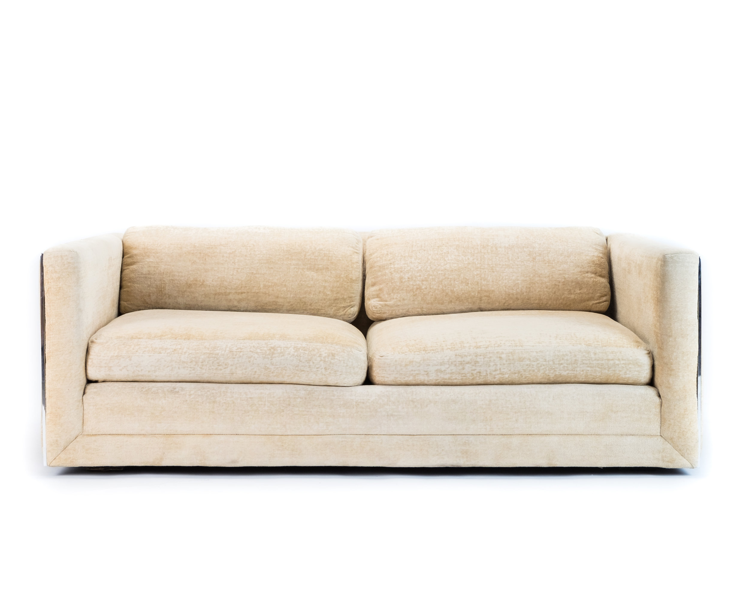 70s sofa dark green velvet canada retro 70 s hook props