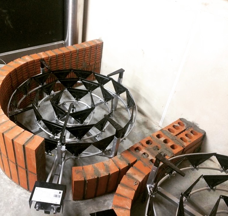 Pot still bases are coming together nicely
