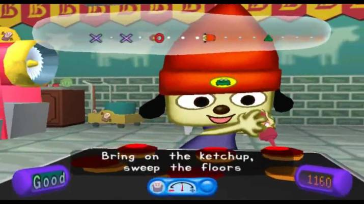 PaRappa The Rapper 2 : teaching us how to do household chores since 2002.