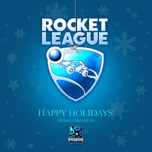 Psyonix wishing everyone a happy holiday!