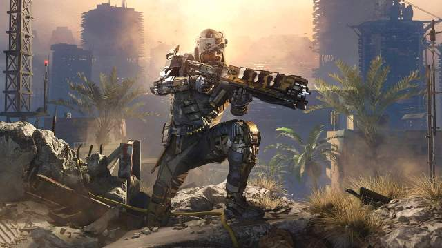 Call of Duty Black Ops 3 starts 2016 at the top of the chart.