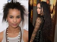 Zoe Kravitz 90s braids revival  M O Y O