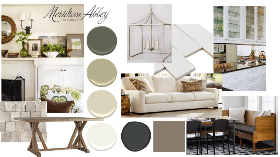 Concept Board Gallery — Meridian Abbey Interiors Interior Kitchen