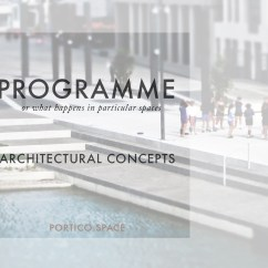 Master Plan Architecture Bubble Diagram Boat Trailer Wiring With Brakes Architectural Concepts Programme Portico