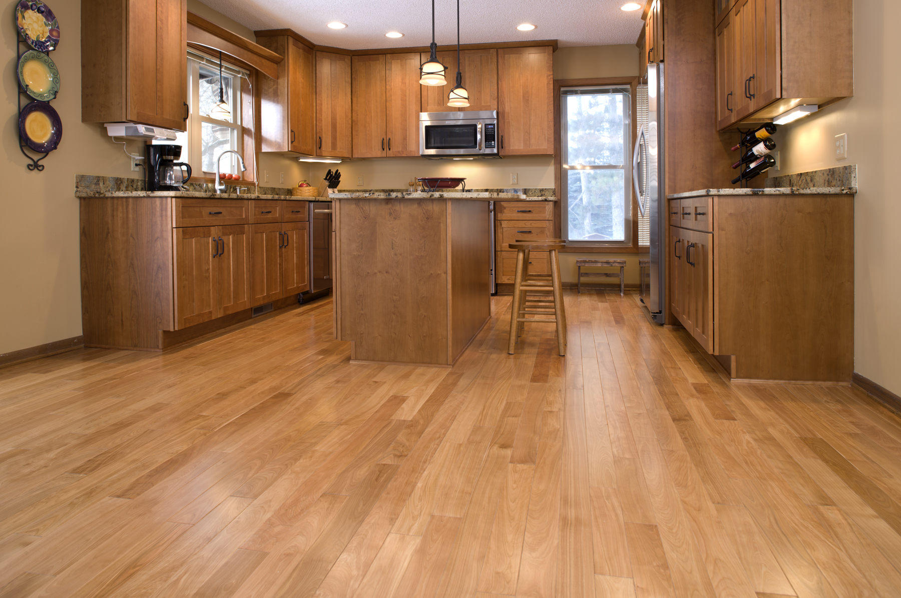 wood flooring for kitchen marble top cart north 4038 red birch premium jpg