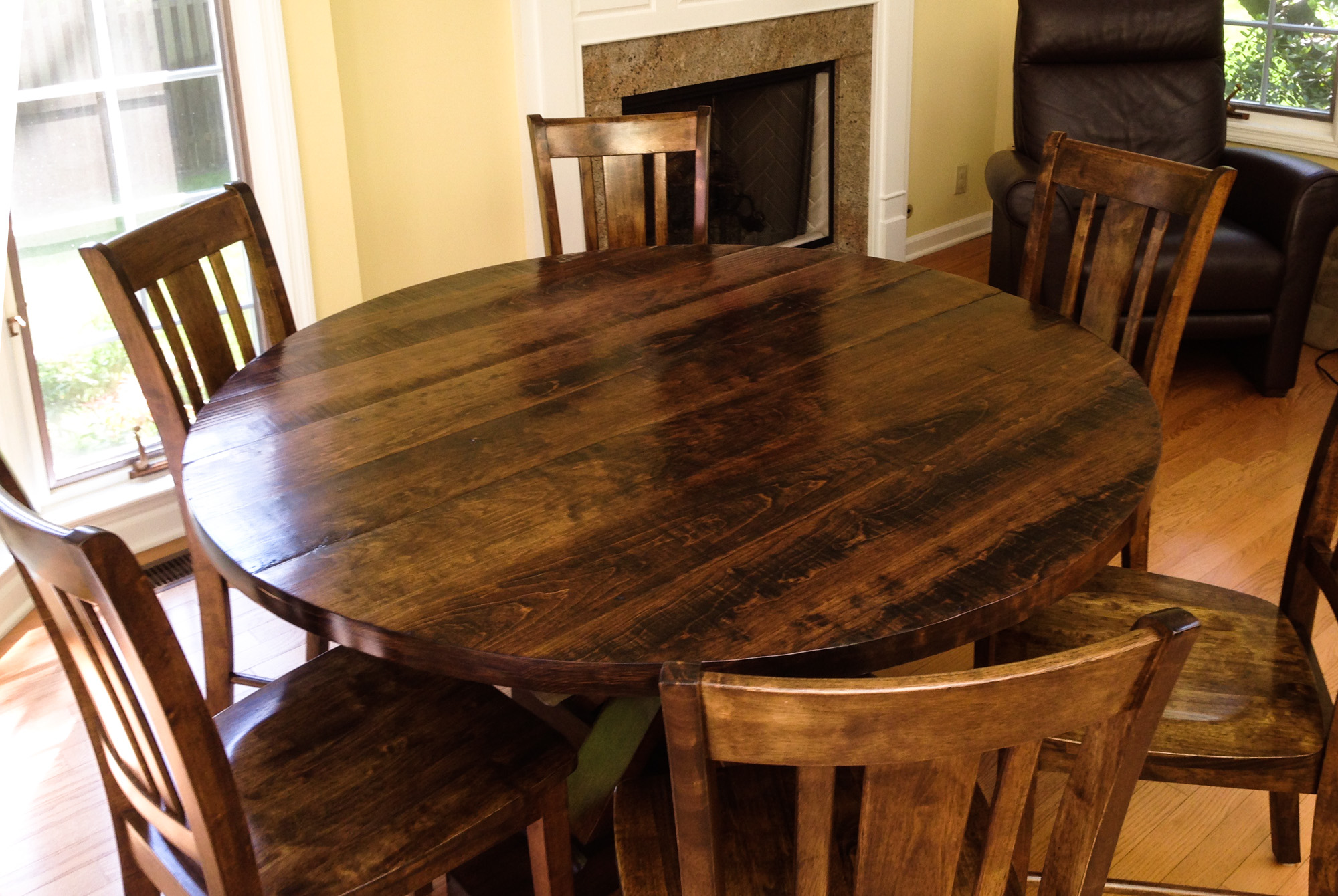 round kitchen table for 6 window coverings tables spring street dezigns