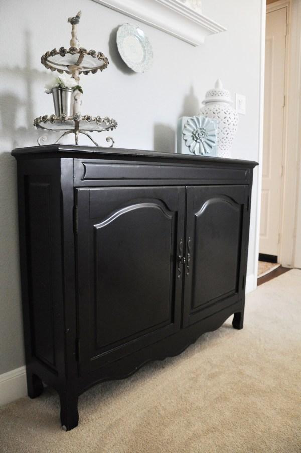 Chalk Paint Furniture Black