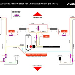 2000 Yzf R6 Wiring Diagram Robertshaw St Thermostat Install Jl Designs Custom Yamaha R1 Parts Tail Light 2015 Below
