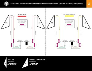 Install — JL Designs  Custom Yamaha R1 R6 Parts  Tail