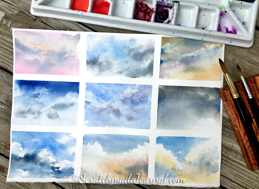 watercolor tutorial how to