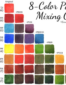 color watercolor mixing chart scratchmadejournal also palette  scratchmade journal rh