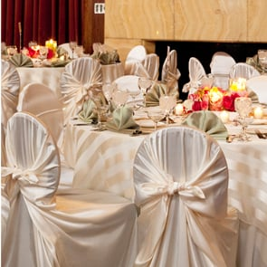 modern art chair covers and linens small arm glow concepts fine linen rental butterfly ivory3 jpg