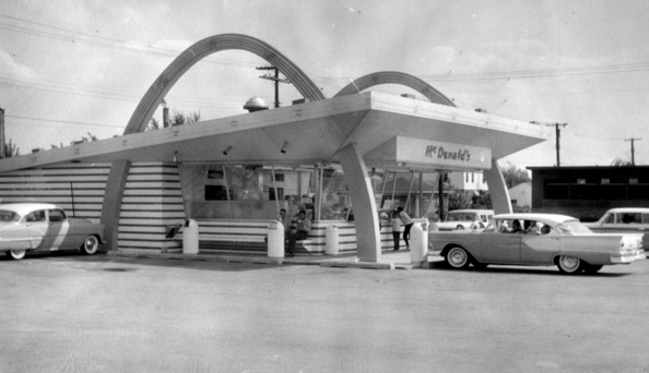 The first Indiana McDonald's opened in 1956. Source:McDonalds Corporation