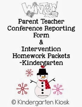 Parent Teacher Conference Reporting Forms and MORE