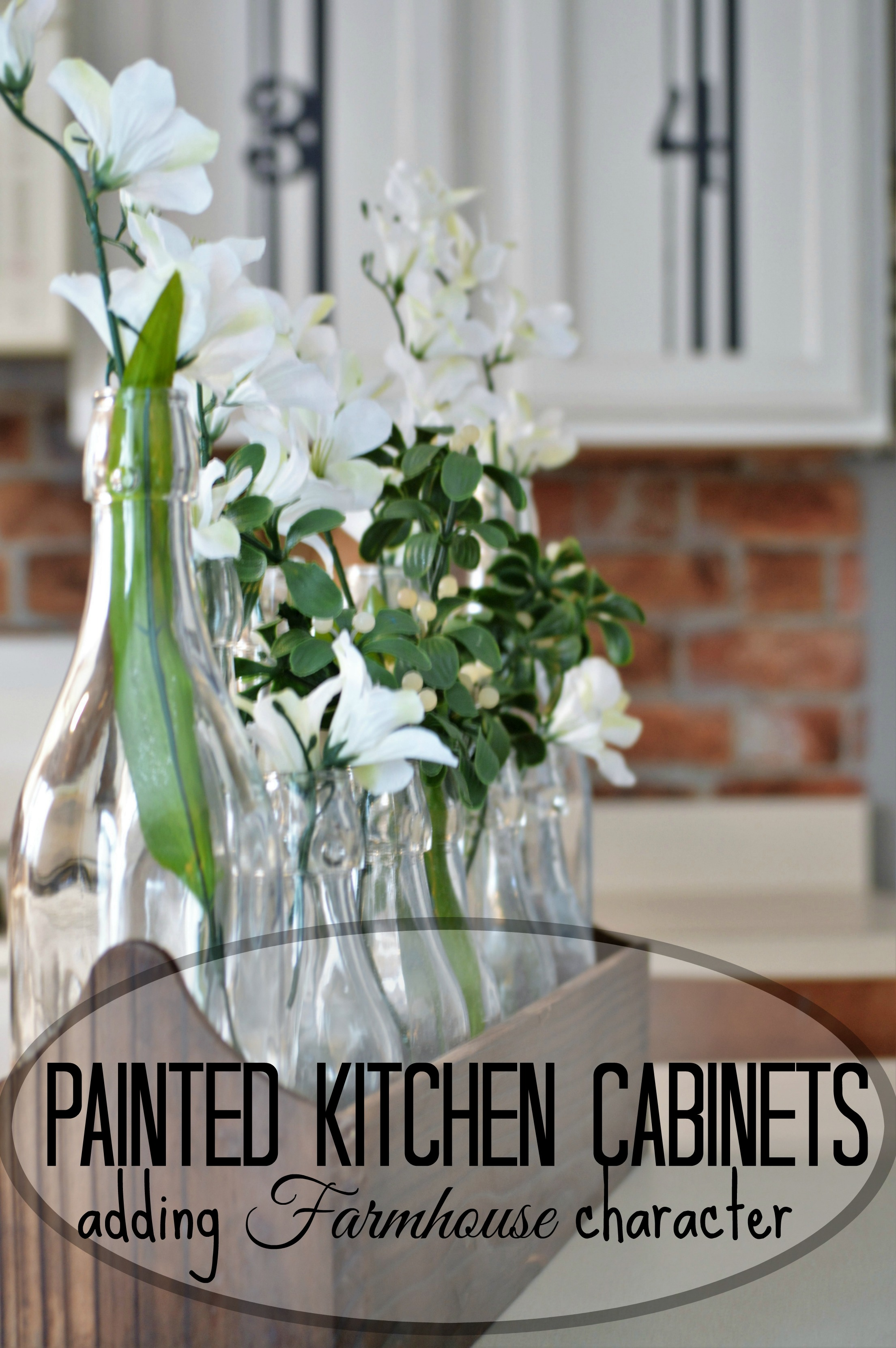repainting kitchen cabinets table and chairs ikea painted adding farmhouse character the other side of neutral