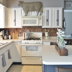 Can I Paint My Kitchen Cabinets Pendant Light Painted Adding Farmhouse Character The Other Side Of Neutral