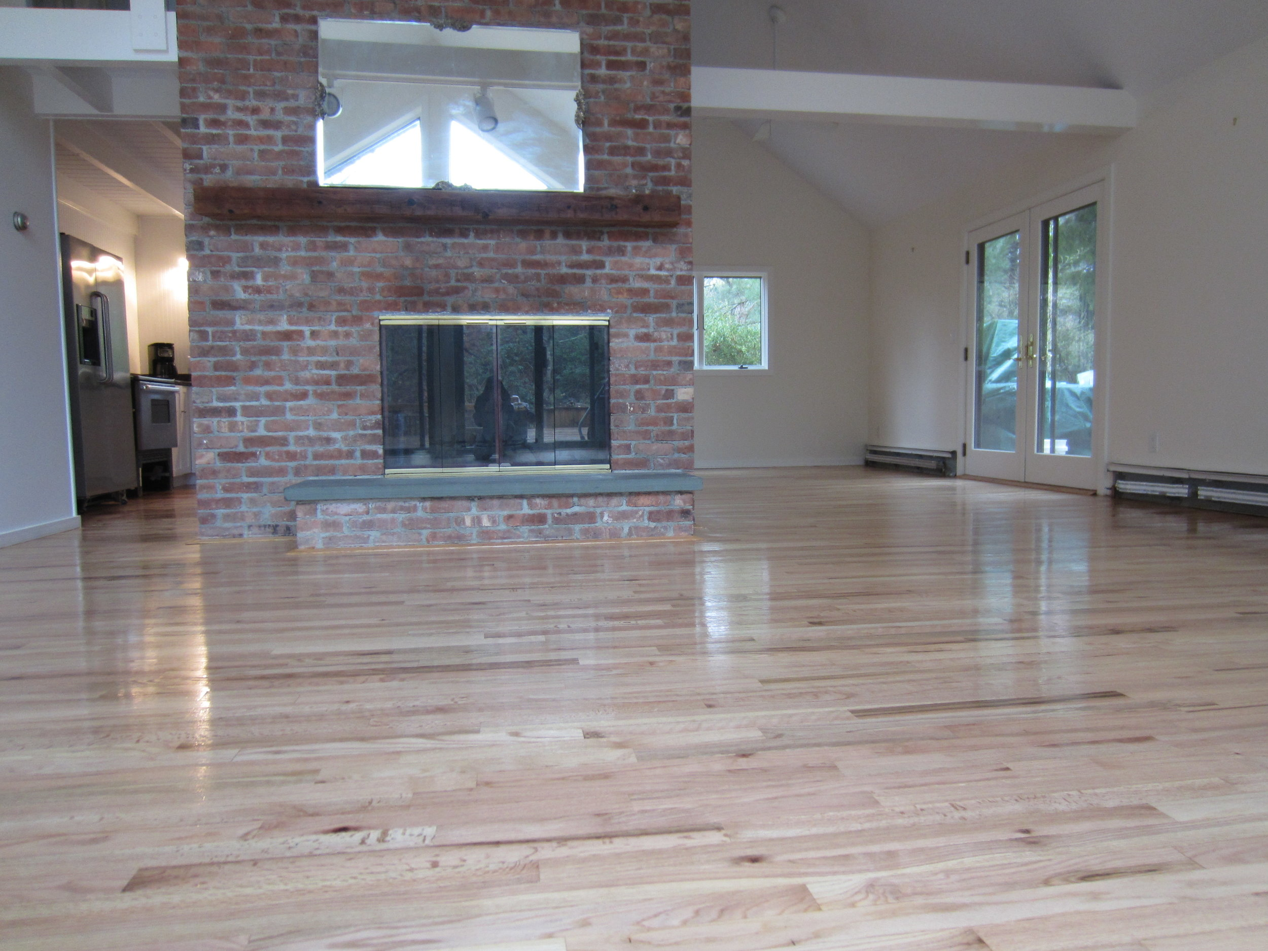 Polyurethane Over Painted Wood Floor