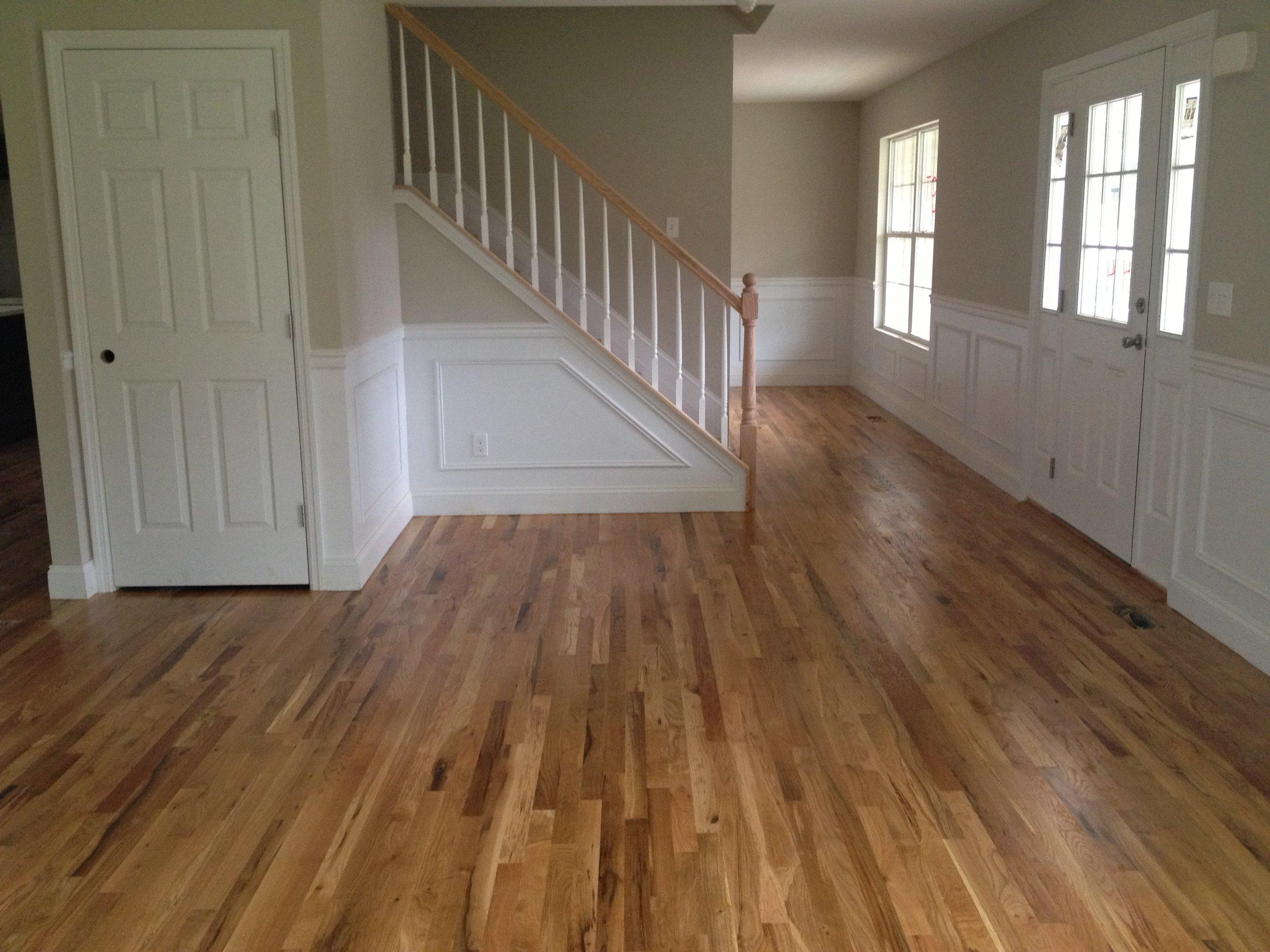 Red Oak Stairs White Oak Floors