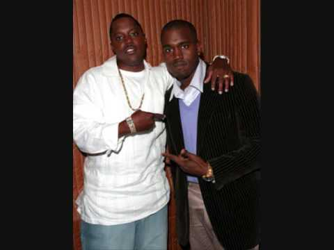 Kanye West and Mase in 2004.  Kanye produced Welcome Back Remix for Mase during his comeback with Bad Boy Records.  Kanye previously produced for Harlem World's All Out album