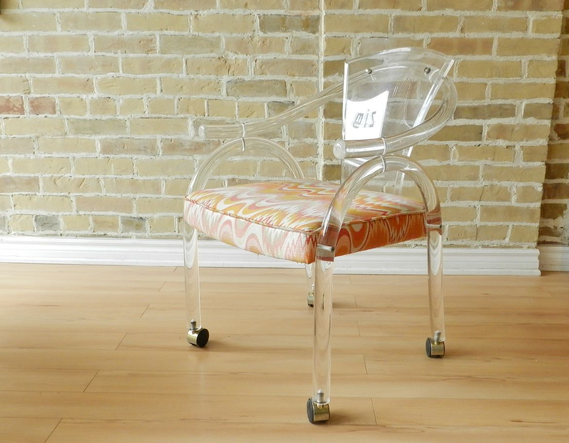 Lucite Chair Lucite Arm Chair