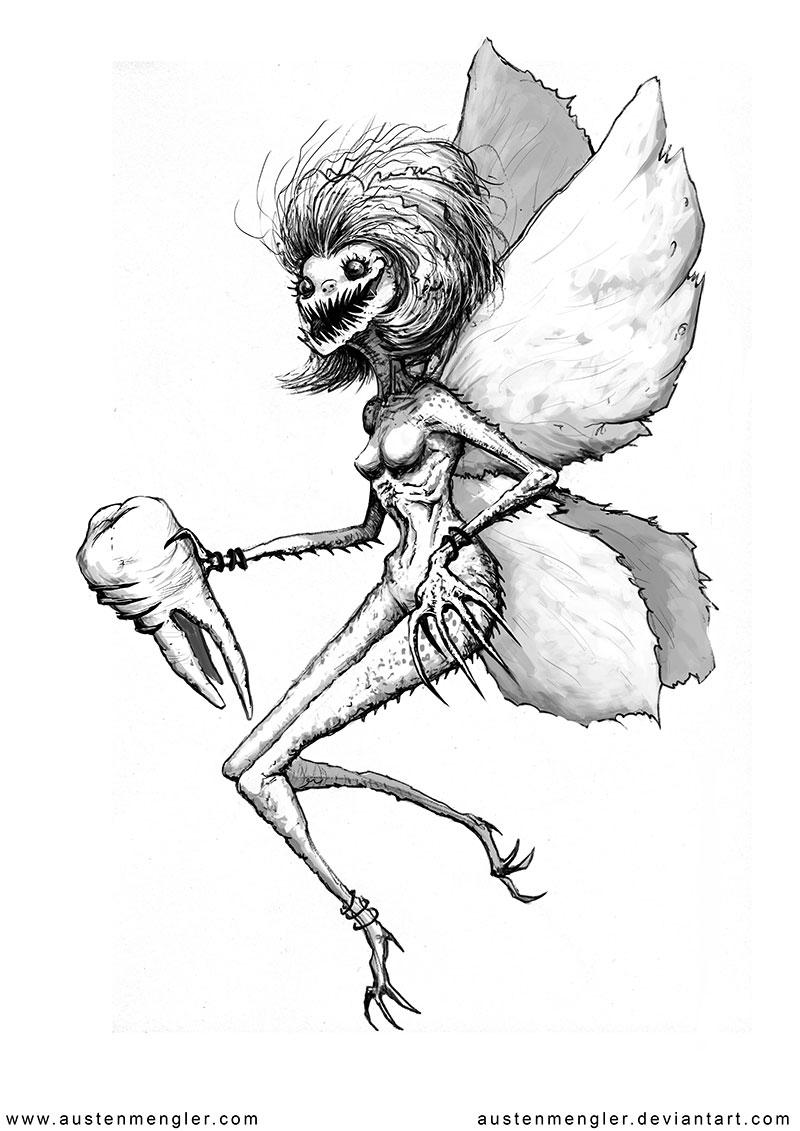 3d Mushroom Garden Wallpaper Scary Sketches The Art Of Austen Mengler