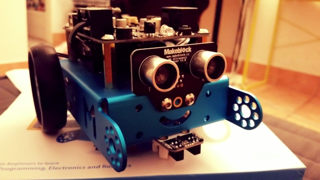 An assembled mBot