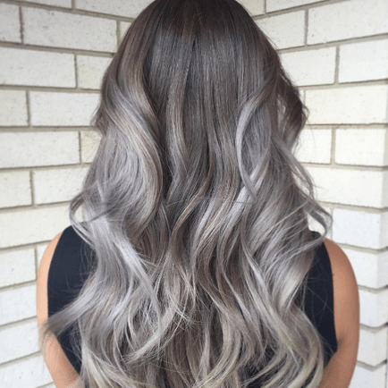 yay nay grey ombre hair lovelierie
