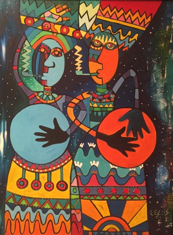 August Artwork Of Month -amos Ferguson Junkanoo
