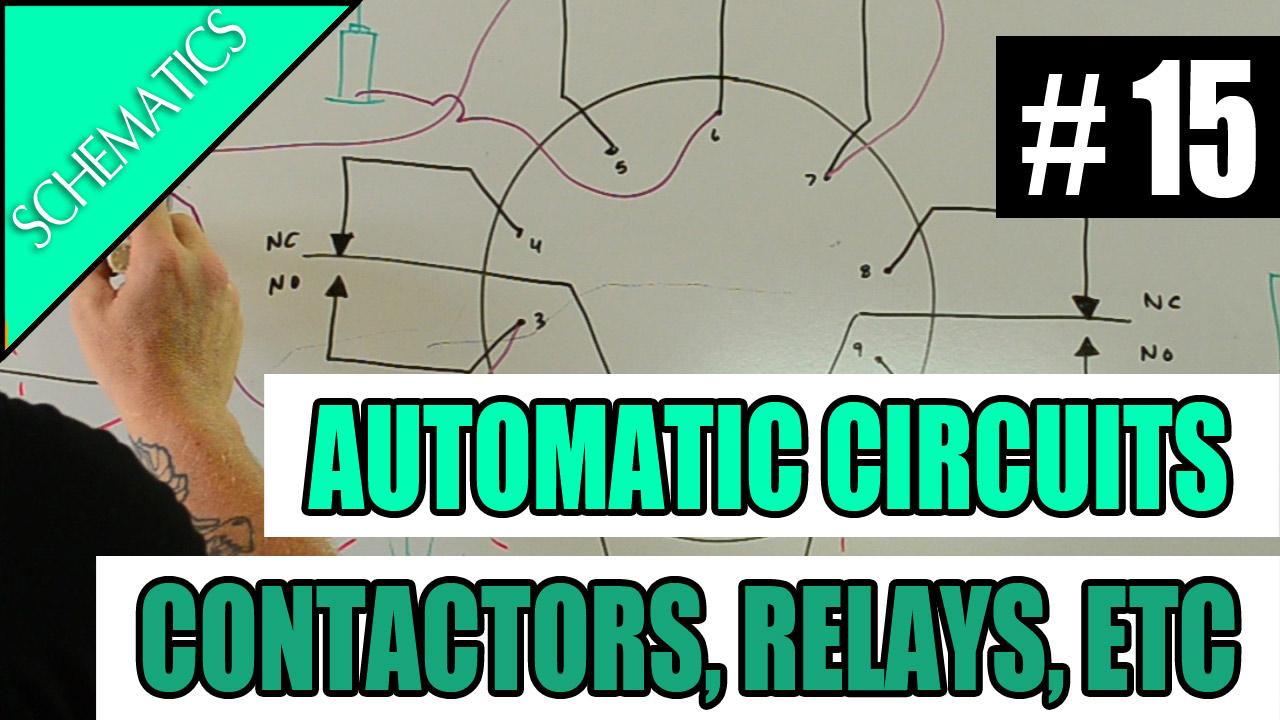 medium resolution of electrician u episode 15 schematics automatic circuits contactors relays photocells timeclocks