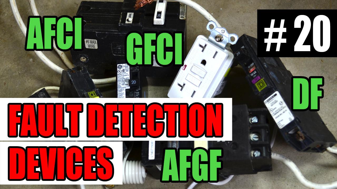 electrician u episode 20 fault detecting devices gfci afci afgf df  [ 1280 x 720 Pixel ]