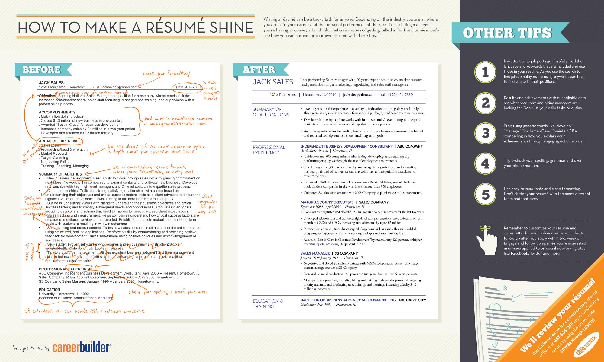 Make Your Résumé Stand Out — MTN Universal