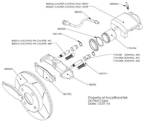 small resolution of brake caliper assembly spec racer ford jpg
