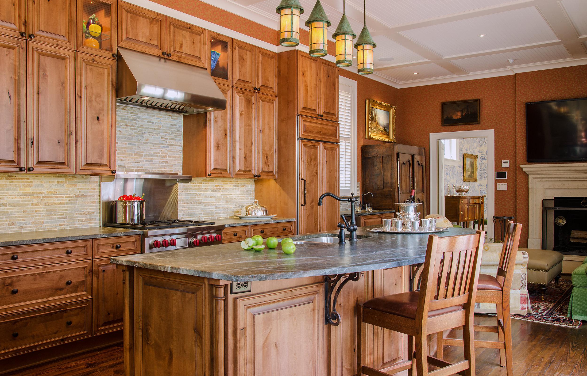 custom kitchens island kitchen ideas elegant rustic