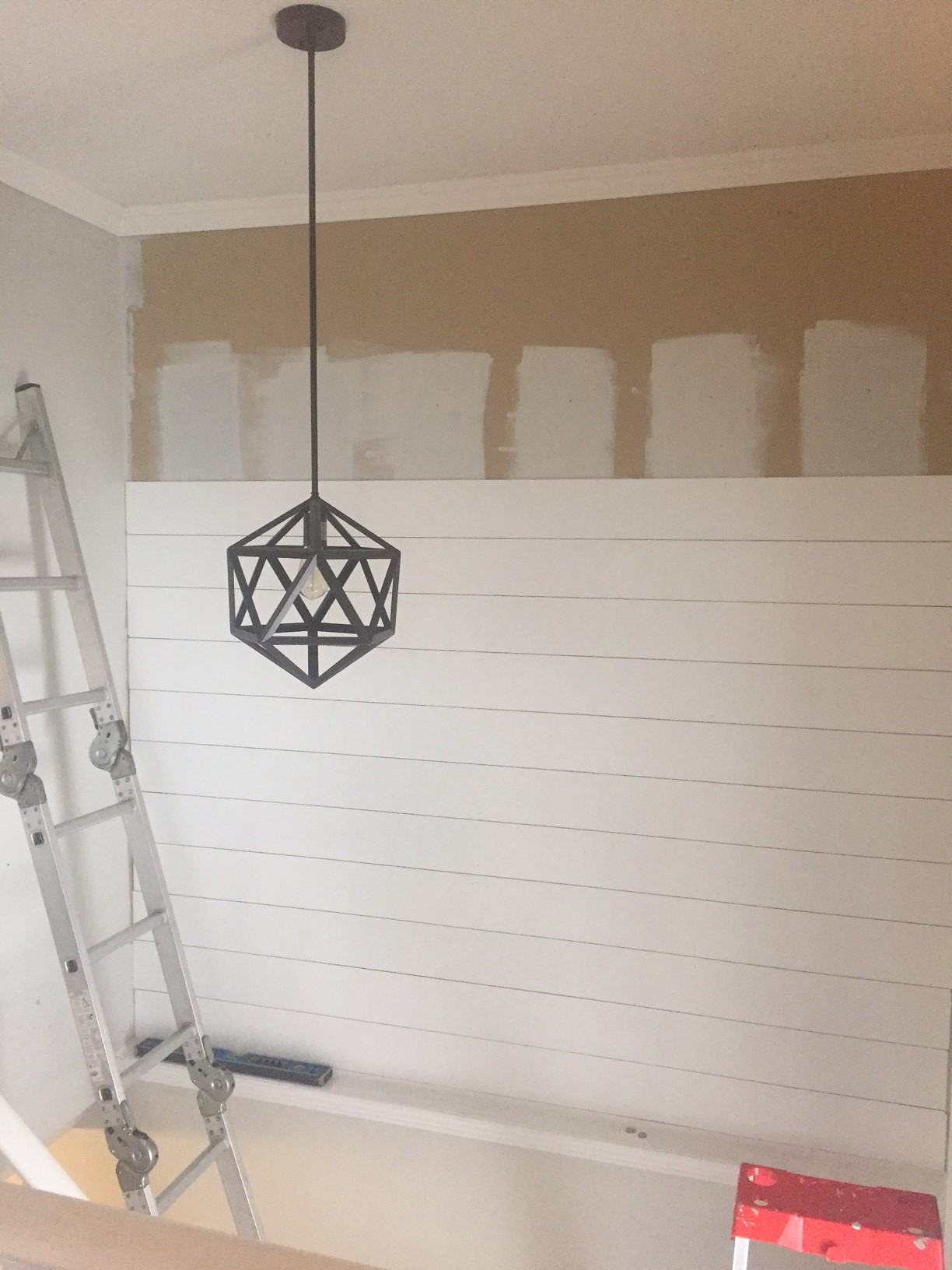 Shiplap Entryway Update  The Penny Drawer