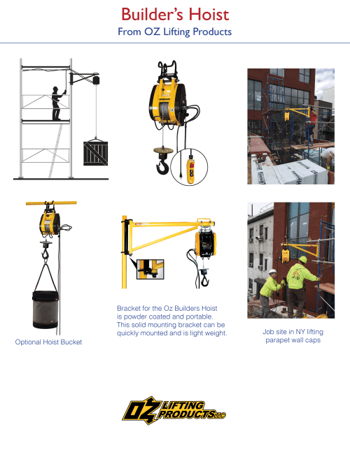 small resolution of electric hoists gallery solutions for rigging and lifting oz builders hoist wiring diagram electric