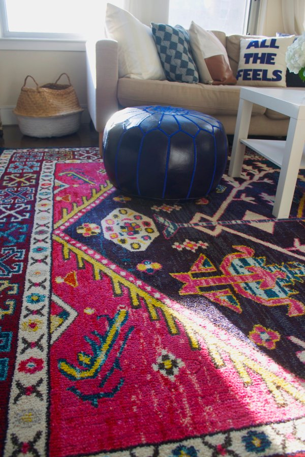 Four Affordable Rugs Apartment Libby Living Colorfully