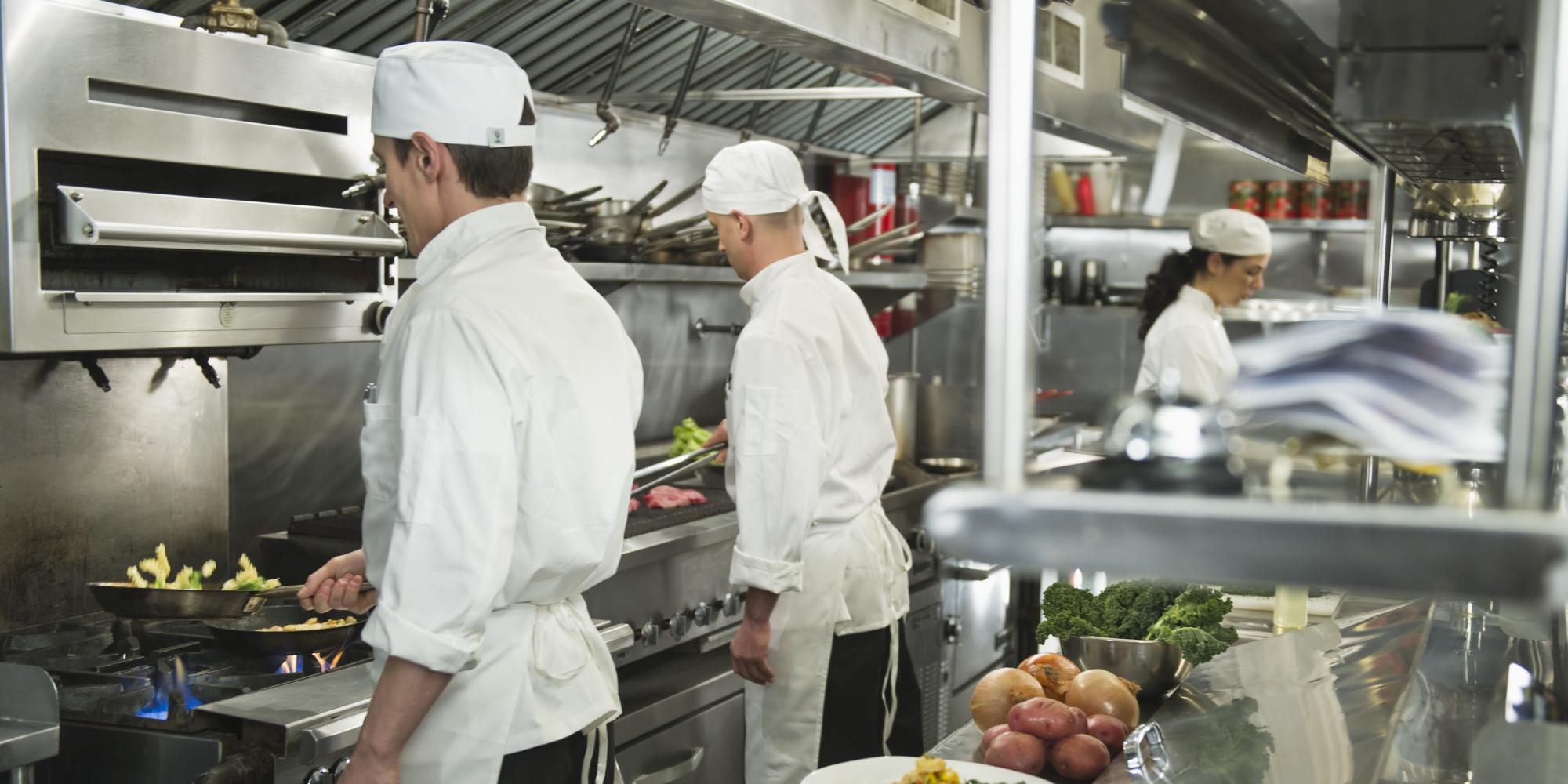 kitchen chief cart with butcher block top chef shortage in restaurant kitchens service first